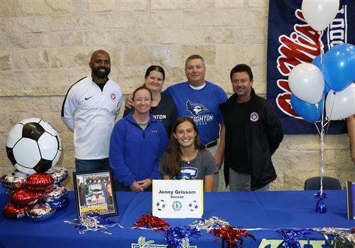 Jenny Grissom signing with coaches