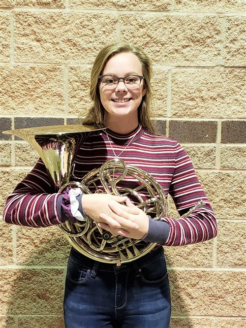 All State Band Student